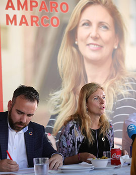 Presentación del programa electoral del PSPV-PSOE al Ayuntamiento de Castelló