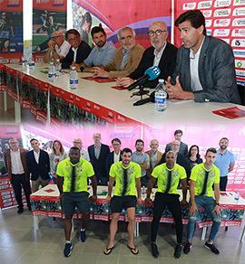 Presentación del Campeonato de Europa de Atletismo por Clubes