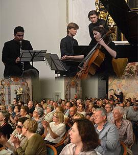 Retrato romántico: Chopin, Beethoven y Brahms