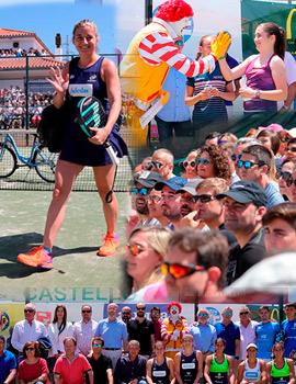 El mejor pádel femenino en el Club de Tenis Castellón