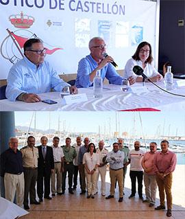 Presentación de las regatas Puerto Azahar y Costa Azahar