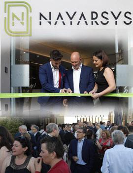 Inauguración de las nuevas  oficinas de Nayar Systems en la avenida Casalduch  de Castelló