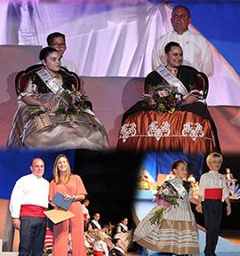 Lidia y Lucía, reinas  de Sant Pere 2019 del Grau de Castelló