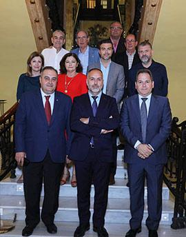 Nueva junta directiva del Real Casino Antiguo de Castellón
