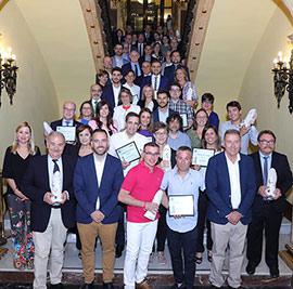 Entrega de los  IX Premios COPE Castellón