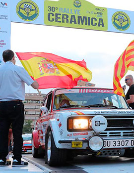 El Rallye de la Cerámica  en su 30 edición en Castellón