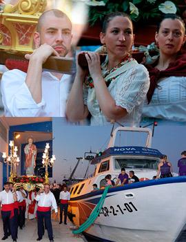Imágenes de la procesión marítima Sant Pere 2019