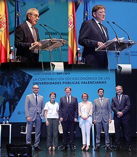 Las universidades públicas valencianas generan el 1,9% del PIB y el 2,3% del empleo de la Comunitat Valenciana