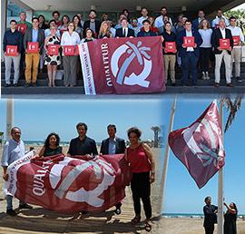 Castelló acoge la entrega de las banderas Qualitur 2019 por la excelencia de sus playas