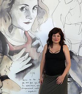 Inauguración de la exposición de Sara Bellés, Deesses interiors