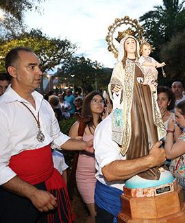 Fiestas de la Virgen del Carmen en el Grao de Castelló