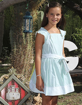 Gal.la Calvo Santolaria, reina infantil de las fiestas de la Magdalena 2020