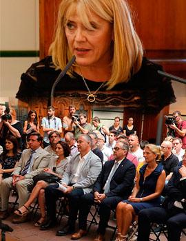 Presentación de la Agencia Valenciana Antidespoblación - Avant y nombramiento de Jeannette Segarra como su directora general