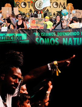 Los movimientos sociales en el Rototom Sunsplash
