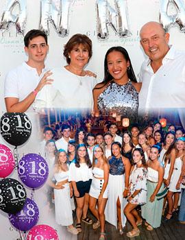 Anna Feliu celebra su fiesta de 18 cumpleaños