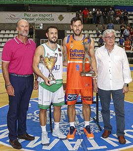 El Valencia Basket se lleva el Trofeo Diputación Copa Lexus ante un combativo Tau Castelló