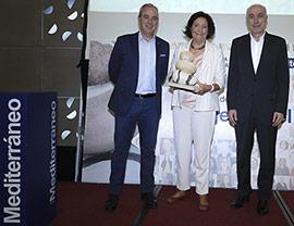 Cristina Botella, premio «Mujer del Mediterráneo» por su trayectoria profesional y humana