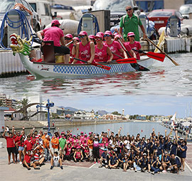 I Campeonato Autonómico Dragon Boat en Castelló