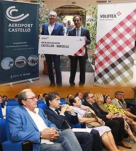 El aeropuerto de Castellón presenta la nueva ruta exclusiva con Marsella