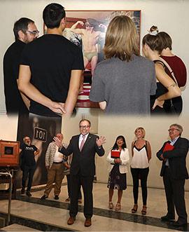 Inauguración de la temporada de exposiciones de la Fundació Caixa Castelló