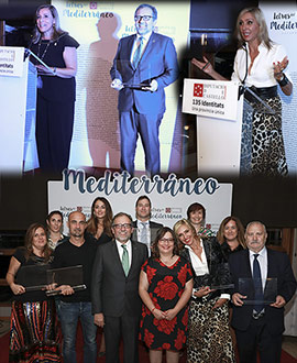 Letras del Mediterráneo premia a Anna Casanovas, Fernando Martínez Laínez, Marin Ledun y Marta Robles