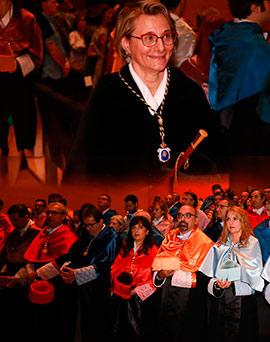 La Universitat Jaume I ha celebrado el solemne acto de apertura del curso académico 2019-2020