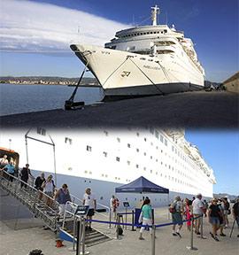 PortCastelló recibe al Marella Dream y cierra la temporada de cruceros 2019