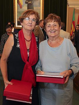 Castelló distingue a Rosa Serrano y a la asociación Adona´t en el 9 d´Octubre