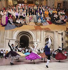 El Centro Aragonés de Castellón celebra las Fiestas del Pilar