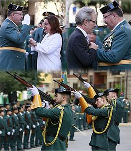 Acto institucional de la Guardia Civil con motivo del Día del Pilar