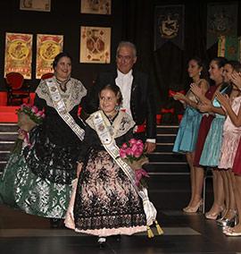 Presentación de las madrinas de la Gaiata 2 Fadrell, Lidia y Toñí