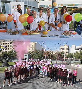 Jornada de puertas abiertas del Hospital Provincial y Día Internacional contra el Cáncer de Mama