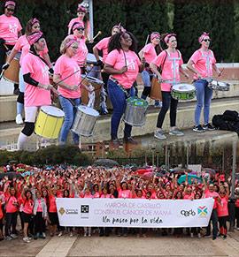 30.000 euros donados a la investigación contra el cáncer de mama en la marcha realizada en Castellón