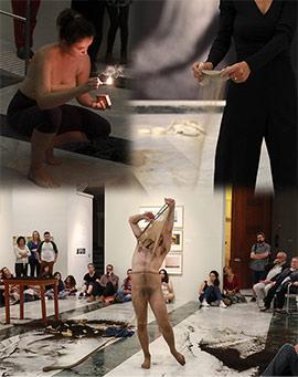 Performances en la Fundació Caixa Castelló