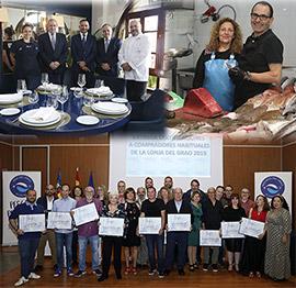 Entrega de certificaciones a compradores habituales de la Lonja del Grao de Castelló