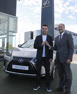Roberto Bautista Agut, nuevo embajador de Lexus en Castellón