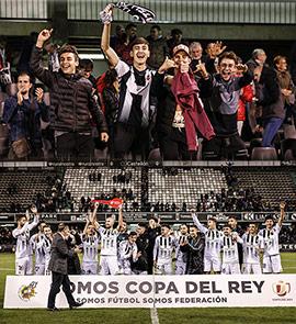 El CD Castellón consigue el pase a las semifinales de la Copa RFEF