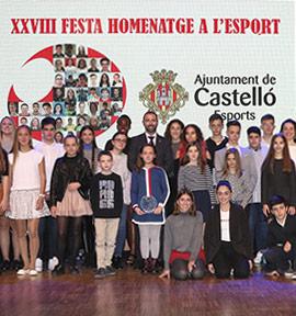 XXVIII Fiesta Homenaje al Deporte Base en el Grau de Castelló