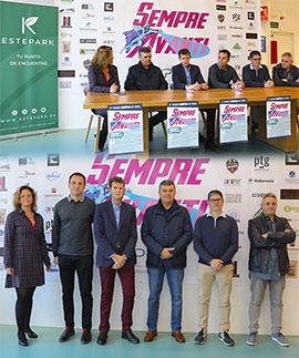 Presentación del I Torneo de Pádel benéfico para la Asociación Sempre Avanti
