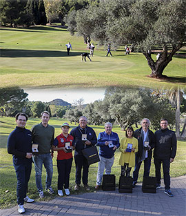 Éxito y sorpresas en el I Torneo de Golf Carlos Guinot Joyería