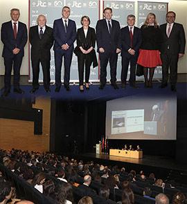 Celebración del 50 aniversario del Instituto de Tecnología Cerámica, ITC