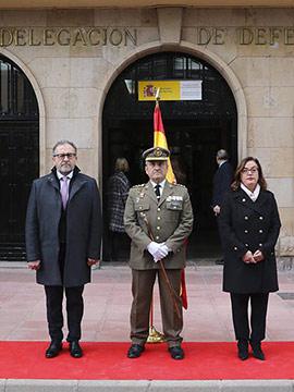 Acto institucional del Día de la Subdelegación de Defensa en Castellón