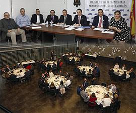 Cena anual del Colegio Oficial de Agentes de la Propiedad Inmobiliaria de Castellón