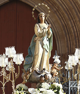 Castelló celebra la fiesta de la Inmaculada Concepción