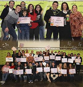 Entrega de premios de la X ruta Sabores de Castellón