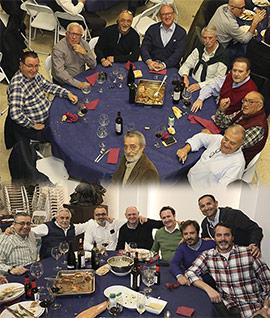 Moros d´Alqueria celebran la cena del pavo