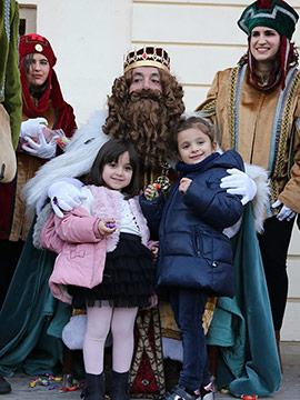 Los Reyes Magos desembarcan en el Grao de Castelló