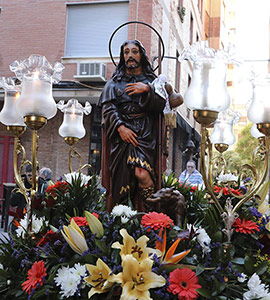 Fiestas en honor a Sant Roc de Vora Sèquia