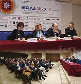 Presentación de  Qualicer´20, XVI congreso mundial de la calidad del azulejo y del pavimento cerámico