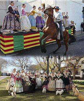 Castelló celebra la tradicional festividad de San Antonio